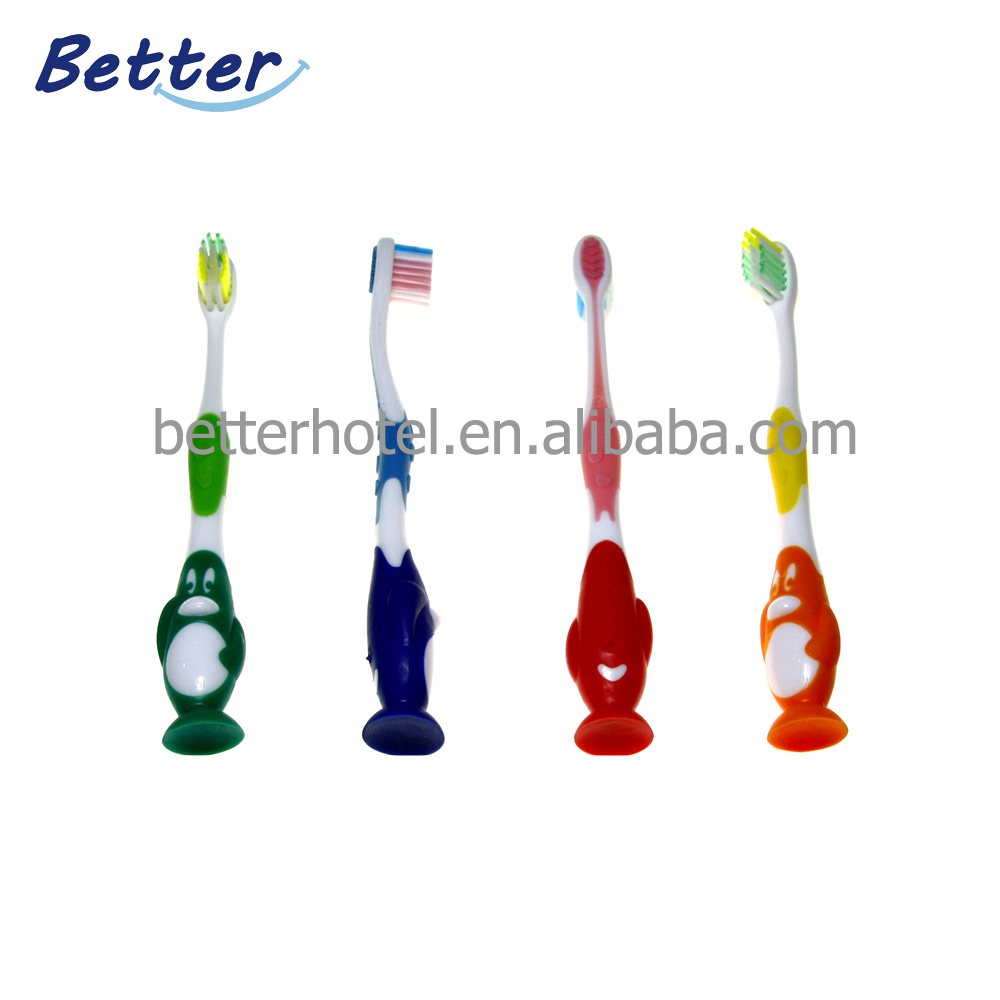 Cheap penguin shape kids toothbrush Featured Image