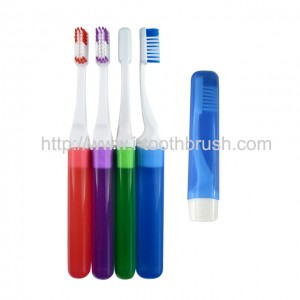 cheap price portable travel toothbrush with cover to protect bristles