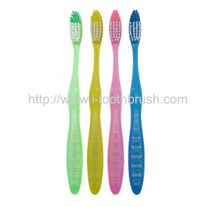 bulk reusable home use soft bristle type simple toothbrush