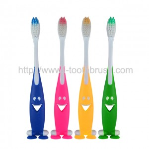 wholesale FDA approved good quality kids toothbrush with toy