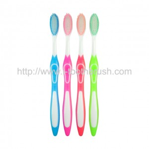 four color plastic toothbrush for sale
