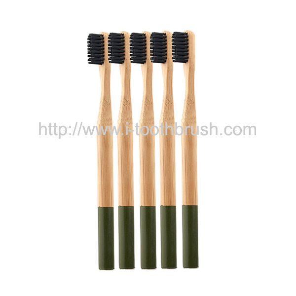 private label adults oral clean bamboo toothbrush Featured Image