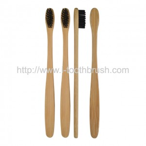 amazon hot selling organic bamboo brush