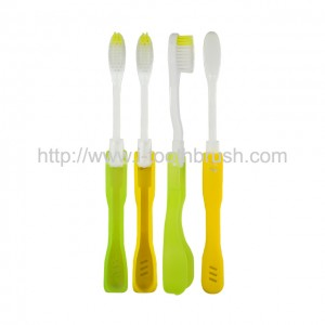 factory sale foldable travel toothbrush