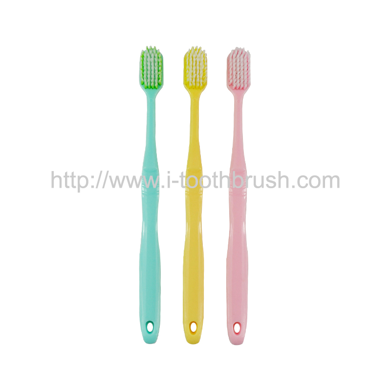 factory supply cheap colorful PP handle soft nylon toothbrush Featured Image