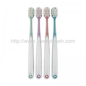 PP and TPR handle super soft nylon toothbrush