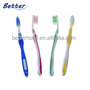 High quality thin handle cheap toothbrushes