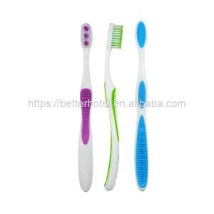 deep clean toothbrush with massage bristles free sample