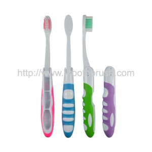 high grade wholesale rubber portable travel gift toothbrush
