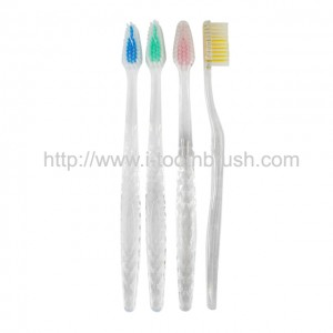 Best transparent diamond handle PS material toothbrush
