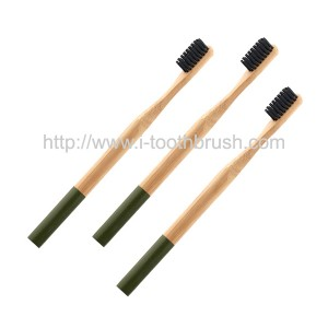 private label adults oral clean bamboo toothbrush