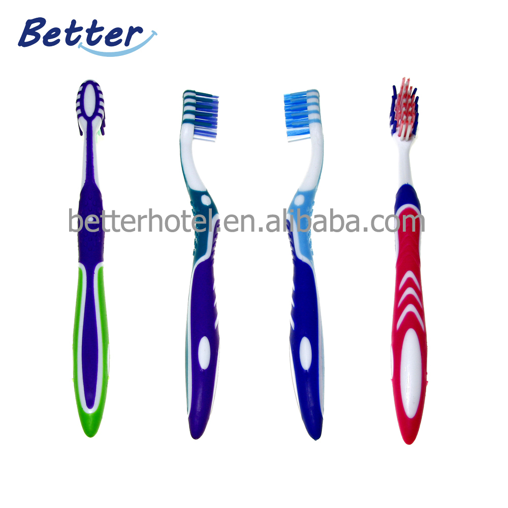 2019 new design adult toothbrush with soft tapered bristle Featured Image